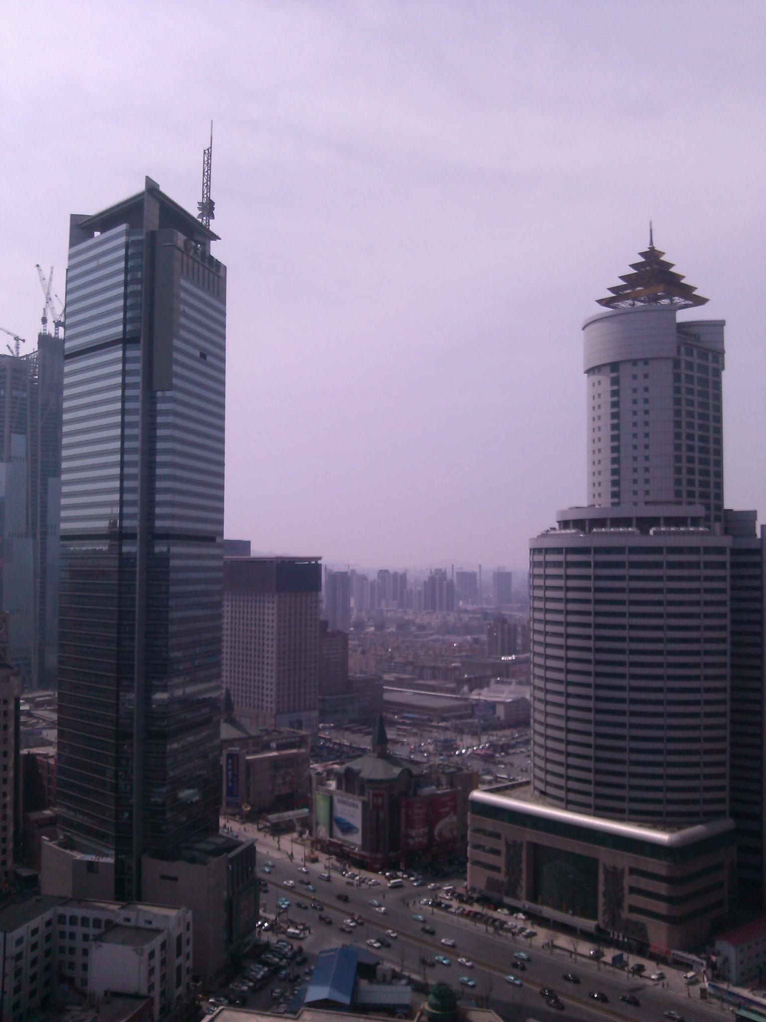 锦联国际大厦大堂写字间内视野实景图一