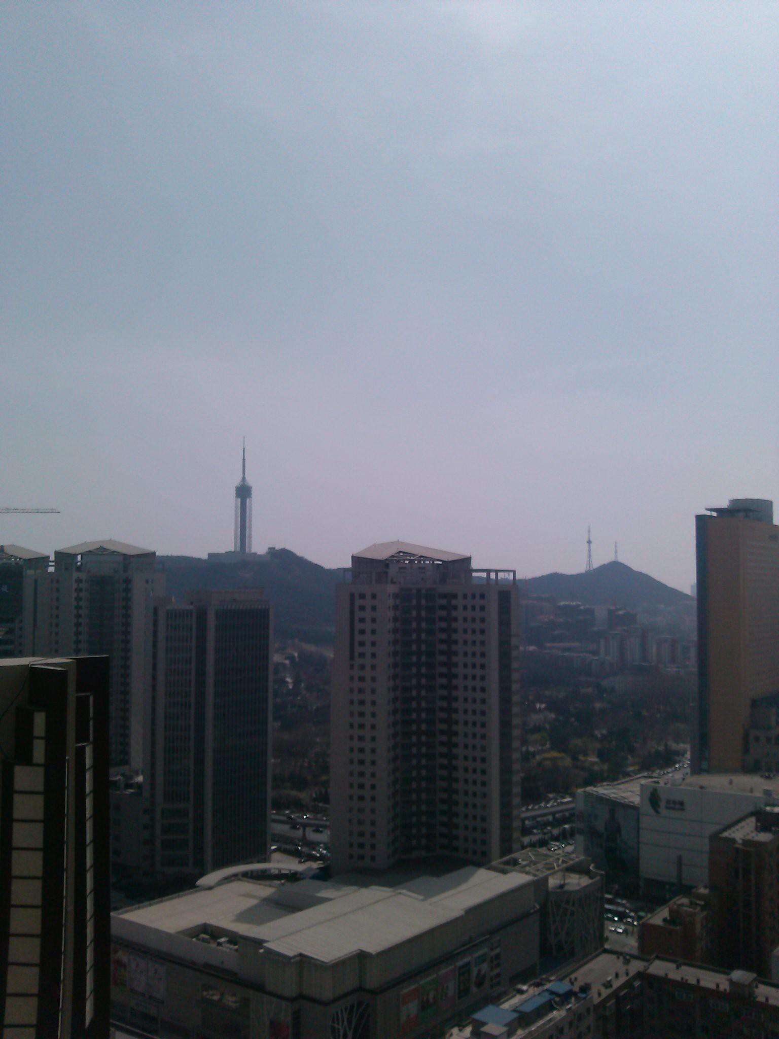 锦联国际大厦大堂写字间内视野实景图